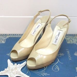 Jimmy Choo Slingback Pumps size 7 1/2